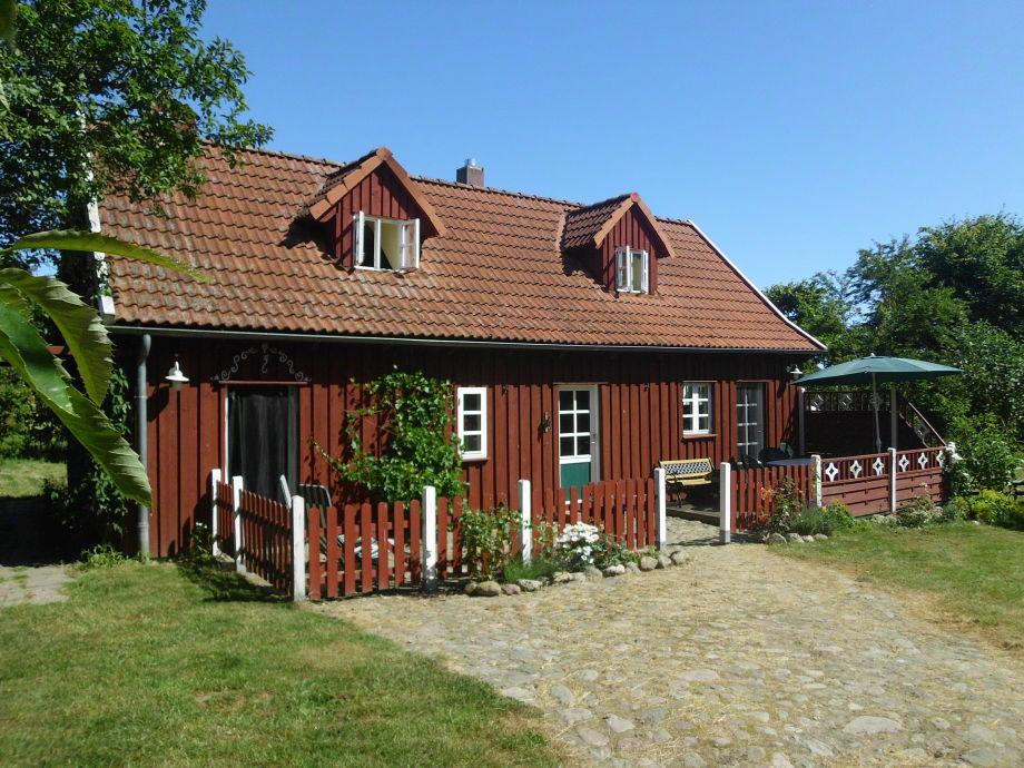 Das Schwedenhaus von vorn