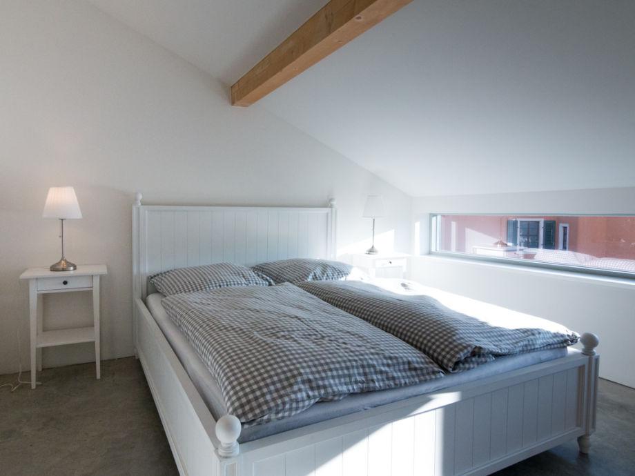 Schlafzimmer Blick Elbe