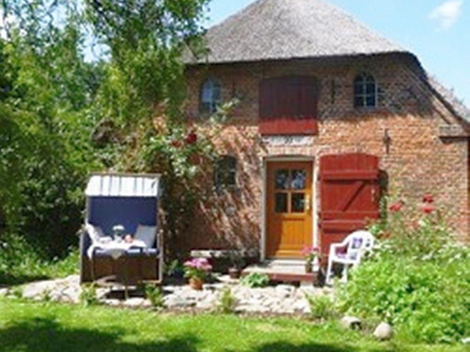 Romantisches Reetdachhaus mit Sauna und Kamin