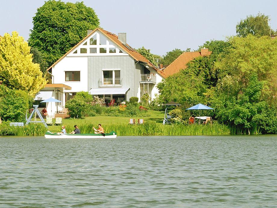 Timmdorfer Kunsthaus, rechts der Balkon d. Maisonette