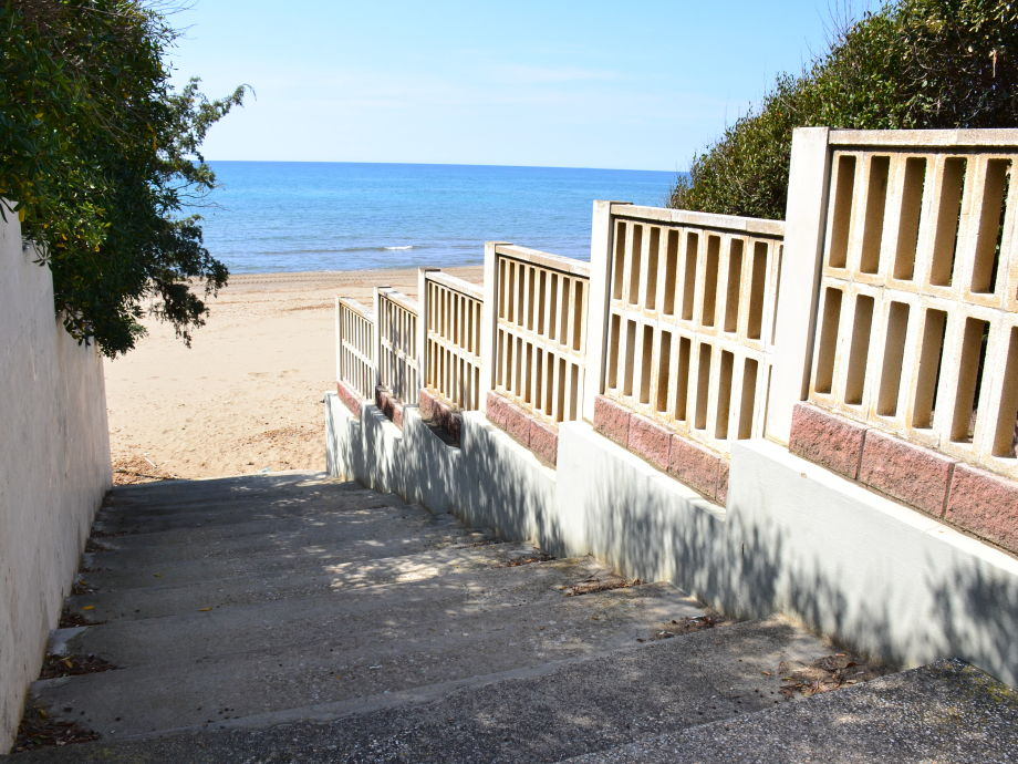 access at the beach